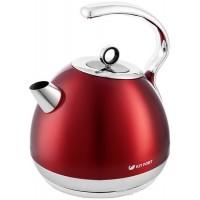 Электрический чайник Kitfort KT-665-2 (красный)