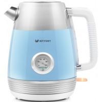 Электрический чайник Kitfort KT-633-4 (голубой)
