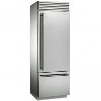 Холодильник с нижней морозильной камерой Smeg RF376RSIX