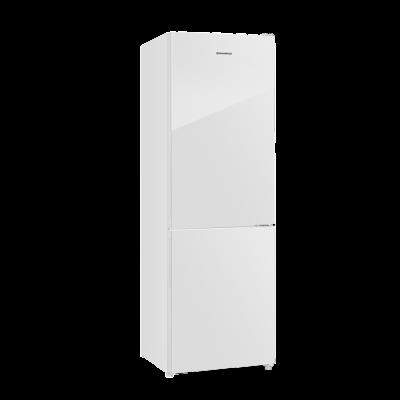 Холодильник с морозильником Maunfeld MFF185NFW