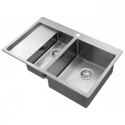 Кухонная мойка AquaSanita LUNA151NR