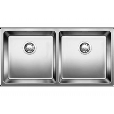 Кухонная мойка Blanco Andano 400/400-U клапан-автомат